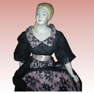UFDC Doll Artist Grace Herald Bisque Convention Doll Leah 21 inch Turned Head