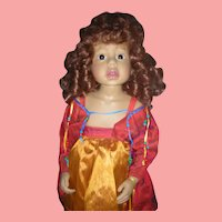 "Doll Artist Phillip Heath Alessandra 24"" Vinyl Doll"
