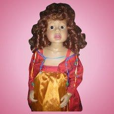"""Doll Artist Phillip Heath Alessandra 24"""" Vinyl Doll"""