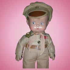 Vintage Effanbee Composition Skippy Doll All Original