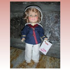Vintage Ideal Captain January Shirley Temple Vinyl Doll