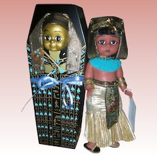 Madame Alexander Egypt Doll with Sarcophagus