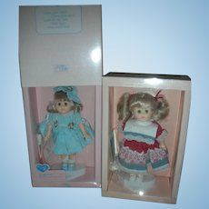 2 Vogue 8 inch Ginny Dolls in Box Limited Edition Shopping in Falmouth Cranberry Patch Doll