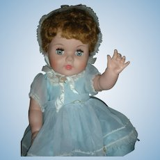 Vintage American Character Toodles Doll 21 Inch Play Pal 1950's Flirty Eyes