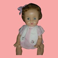 Vintage Ideal Betsy Wetsy Doll 12 inch Drink And Wet