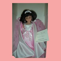 Madame Alexander Doll Club Shadow Jackie Kennedy Doll Opera Coat 10 inch