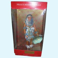 Vintage Peggy Nisbet King Tut Tutankhamun Egypt Doll in Box
