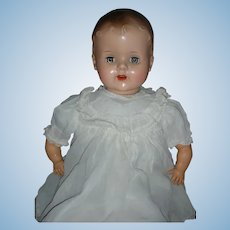 Vintage 1940's Schilling Mama Doll Mechanical