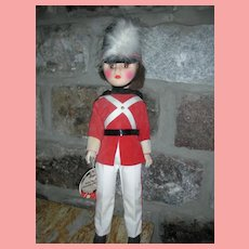 Vintage Effanbee Parade of the Wooden Soldiers Doll with Tag