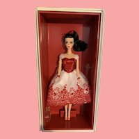 Cupid Kisses Silkstone Holiday Hostess Barbie Doll NFRB