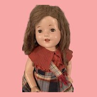 Large 27 inch All Original Composition Mama Doll