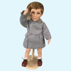Vintage John John Kennedy Doll A Farewell Salute