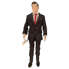 John Kennedy The JFK Portrait Vinyl Doll by Franklin Mint