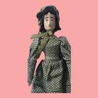 Vintage Peg Wooden Doll House of Seven Gables