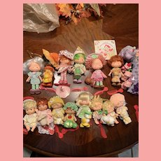 Vintage Strawberry Shortcake Dolls 1980's Kenner