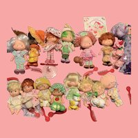 Vintage Strawberry Shortcake Dolls 1980's Kenner