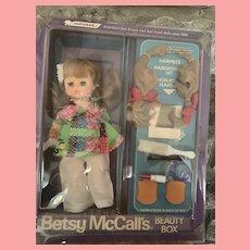 Vintage Betsy McCall Horsman  Beauty Box Doll NRFB