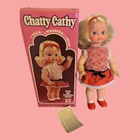 Vintage Mattel Chatty Cathy Doll 1972 in Box