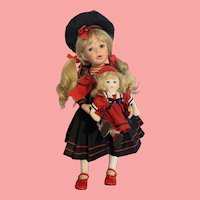 Doll Artist Sailor Girl Brynn with Doll 26 inches