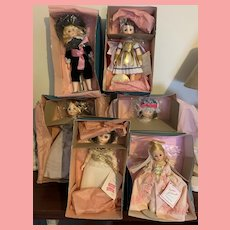 Lot of vintage Madame Alexander Dolls in box