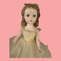 Vintage 1950's Madame Alexander Rosamund Bridesmaid Doll All Original