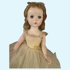 Vintage 1950's Madame Alexander Rosamund Bridesmaid Doll All Original