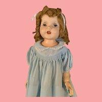 Vintage Rita Paris Doll 1950's Hard Plastic Playpal dolls