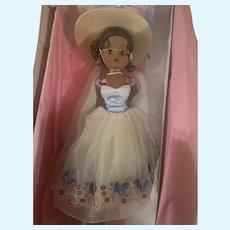 Rare Beautiful African American Madame Alexander Cissy Bluebird Doll MIB