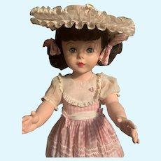 Beautiful 1959 Effanbee Mary Jane Playpal Doll All Original