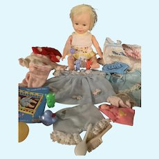 Vintage Deluxe Reading Suzie Cute Doll and