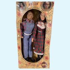 Vintage Mego Walton TV Show Dolls Johboy and Mary Ellen