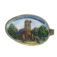 Iowa Souvenir Spoon - Sterling Silver Vintage Collectors Little Brown Church