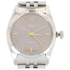 1974 Rolex Oyster Precision Men's Watch Stainless Steel Mechanical 2Yr. Wty 6426