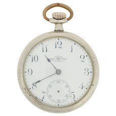 Ball Watch Co. Pocket Watch - Silverode 19 Jewels