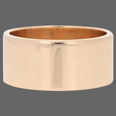 Yellow Gold Victorian Ring - 18k Antique Wedding Band
