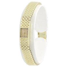 Tiffany & Co. Vintage Women's Wristwatch - 14k Yellow Gold Ladies Watch