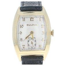 Men's Vintage Bulova Watch - 14k Gold 10BC Mechanical Movement 2Yr. Warranty