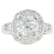 Diamond Enhancer Wedding Band Set - 14k Gold Guard Rings Round Brilliant .50ctw