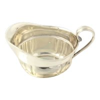 Wallace Creamer & Saucer Tray - Sterling Silver 212 & 4212 Fine Entertaining