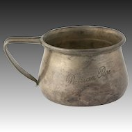 Silver Cup Mug - Sterling R Blackinton 4589 Vintage Collector's Dinning Estate