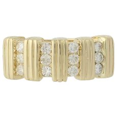Diamond Ring - 14k Yellow Gold Anniversary Gift Women's .33ctw