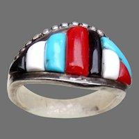 Native American Zuni Ring Designer Veronica Pablano
