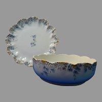 Serving Bowl Serving Platter Limoges Lanternier Antique