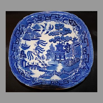 Bourne Leigh Flow Blue Willow Serving Bowl