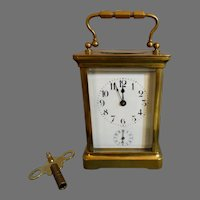 Antique Carriage Clock Duverdrey & Bloquel