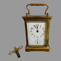 Antique Carriage Clock Duverdrey & Bloquel