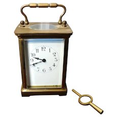 Antique Carriage Clock Harris & Harrington France