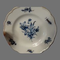 Meissen Dish Plate Antique Insects & Floral