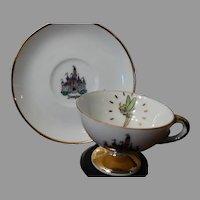 Disney Disneyland Souvenir Cup & Saucer Tinkerbell