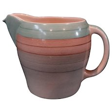 Earthenware Cream Pitcher Susie Cooper Productions Wedding Ring Pattern